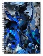 Blue Chaos Spiral Notebook
