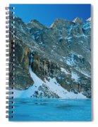 Blue Chasm Spiral Notebook