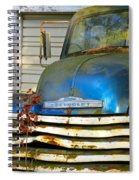 Blue Chevy   Spiral Notebook