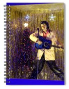 Blue Christmas Without Elvis Spiral Notebook