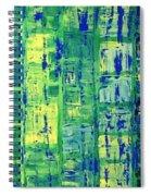 Blue City Spiral Notebook