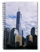 Blue Cloud Line Spiral Notebook