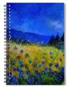 Blue Conflowers 454150 Spiral Notebook