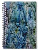 Blue Coral Spiral Notebook
