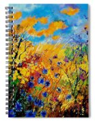 Blue Cornflowers 450408 Spiral Notebook