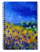 Blue Cornflowers 774180 Spiral Notebook