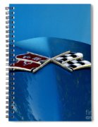 Blue Corvette Spiral Notebook