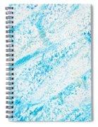 Blue Crayon Spiral Notebook