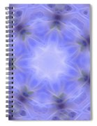 Blue Crystallized 1  Spiral Notebook