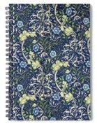 Blue Daisies Design Spiral Notebook