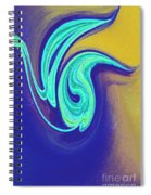 Blue Dance By Jrr Spiral Notebook
