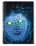 Blue Demon Spiral Notebook