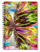 Blue Dolphin Fantasy Spiral Notebook