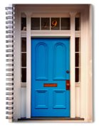 Blue Door 19 Spiral Notebook