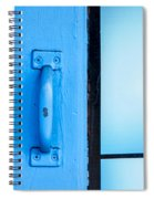 Blue Door Handle Spiral Notebook