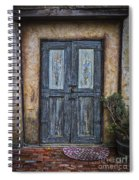 Blue Doors Spiral Notebook