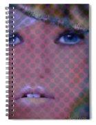 Blue Dot Spiral Notebook