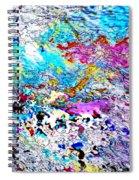 Blue Dragon Trail Spiral Notebook