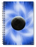 Blue Eclipse Spiral Notebook