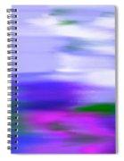 Blue Evening Mist Spiral Notebook