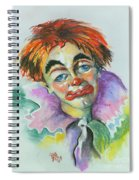 Blue Eyes Spiral Notebook