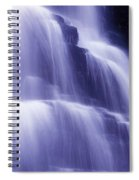 Blue Falls Spiral Notebook