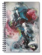 Blue Fever8 Spiral Notebook
