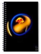 Blue Flame 2 Spiral Notebook