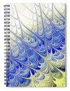 Blue Folium Spiral Notebook