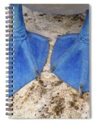 Blue-footed Booby Feet  Spiral Notebook