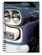 Blue Ford Pickup Spiral Notebook