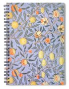 Blue Fruit Spiral Notebook