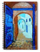 Blue Gate Spiral Notebook