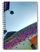 Blue Gill Closeup Spiral Notebook