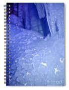 Blue Goosebumps Spiral Notebook