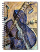 Blue Guitar - About Pablo Picasso Spiral Notebook