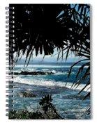 Blue Hawaii Spiral Notebook