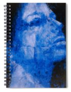Blue Head Spiral Notebook