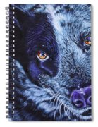 Blue Heeler Spiral Notebook