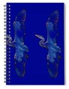 Blue Heron Ballet Spiral Notebook