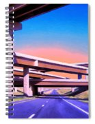 Blue Highway 7 Spiral Notebook