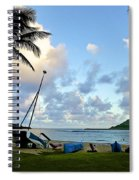 Blue Hour At Kalapaki Beach Spiral Notebook