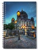 Blue Hour Dom Spiral Notebook