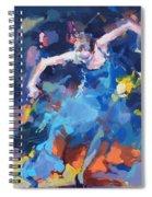 Blue Hurricane Spiral Notebook