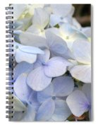 Blue Hydrangea Flowers Spiral Notebook