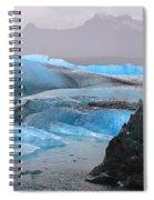 Blue Ice Spiral Notebook
