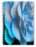 Blue Impatience Spiral Notebook