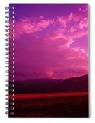 Blue In Bonners Ferry Spiral Notebook