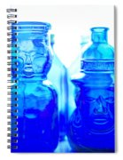 Blue In The Face Spiral Notebook