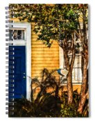 Blue In The Tropics Spiral Notebook